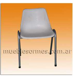 Silla Apilable Monocasco Art. 19